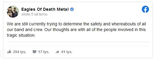 Eagles of Death Metal bataclan