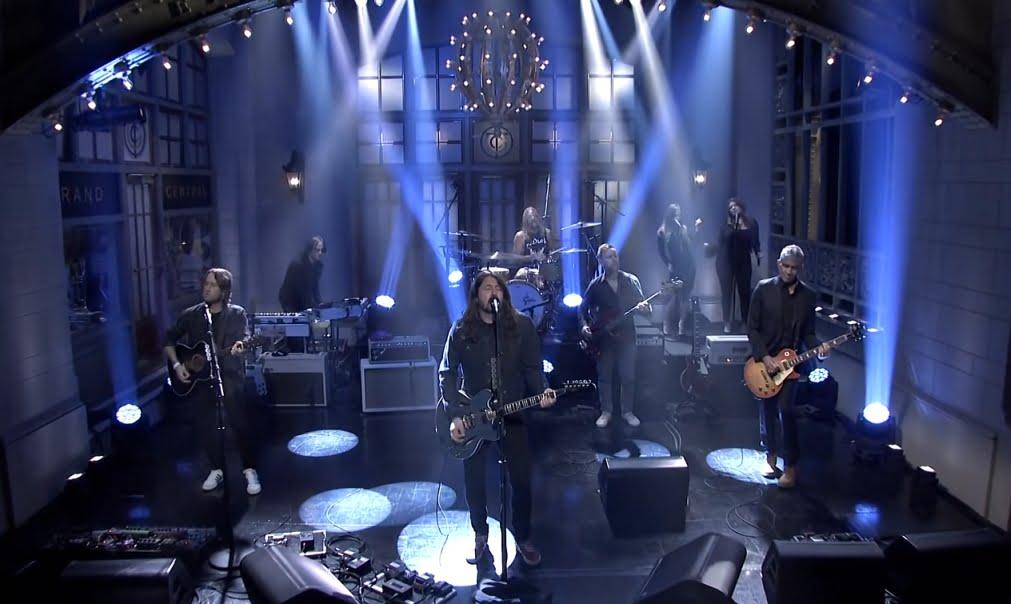 Foo Fighters, fot. YouTube