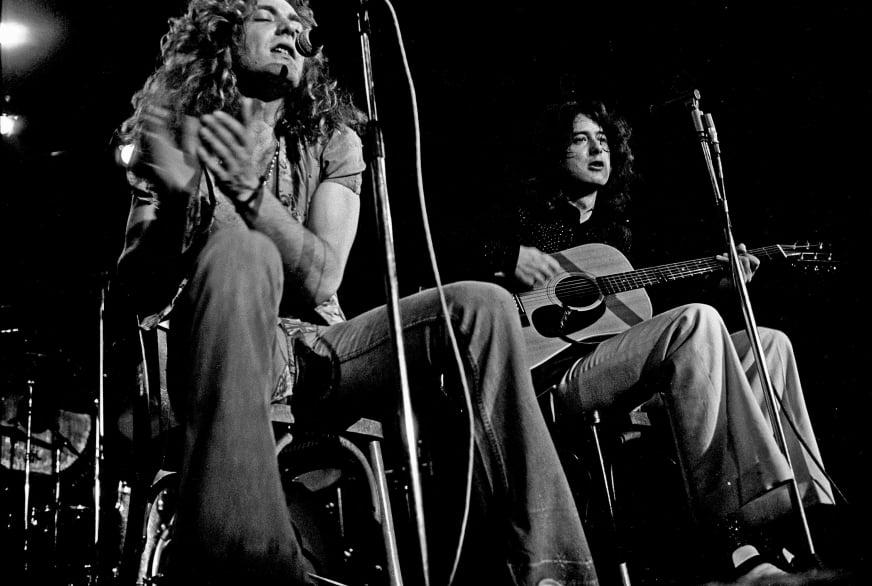 Led Zeppelin 1973, fot. Wikipedia na licencji CC