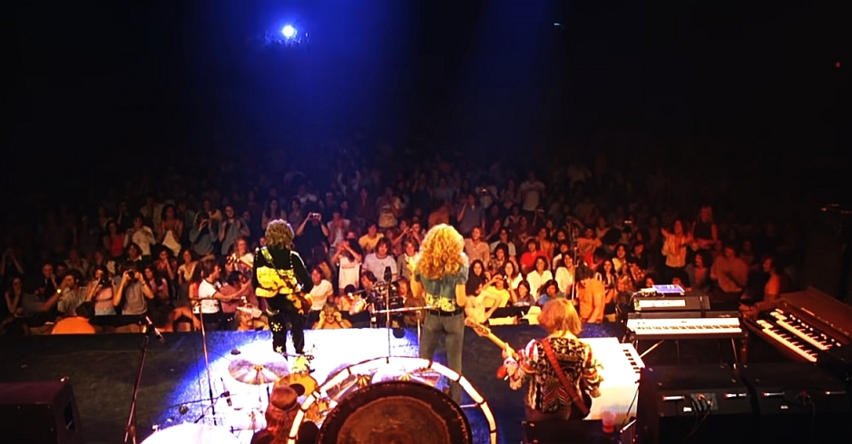 Led Zeppelin, Madison Square Garden (New York City), 1973, fot. YouTube