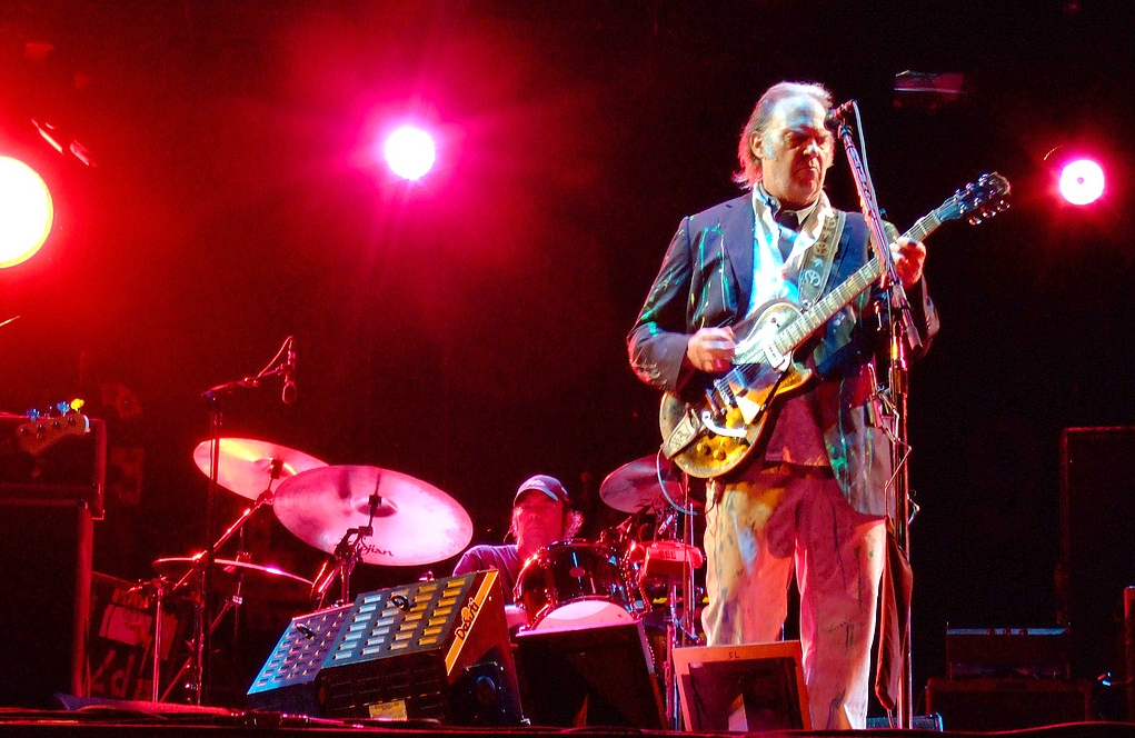Neil Young, fot. Wikipedia na licencji CC