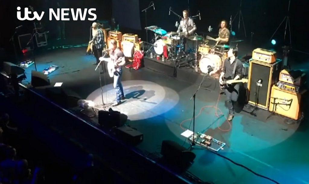 The Eagles Of Death Metal concert, Bataclan 2017, fot. YouTube