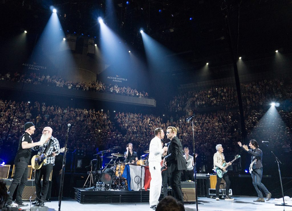 U2 oraz Eagles of Death Metal w Paryżu