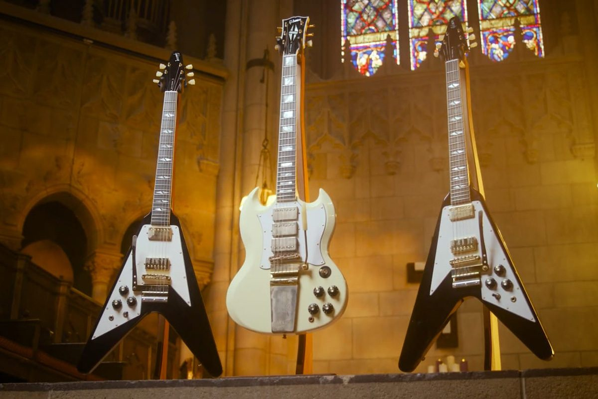 Gibson prezentuje gitary sygnowane nazwiskiem Jimi'ego Hendrixa