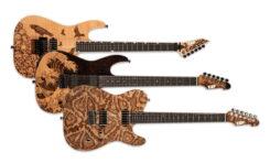 Limitowane gitary ESP USA Pyrograph Series