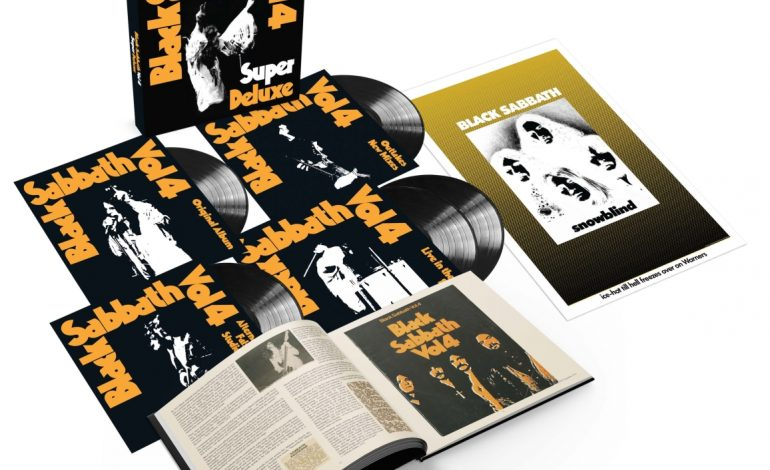 """Kolekcjonerska reedycja płyty Black Sabbath """"Vol. 4: Super Deluxe"""""""