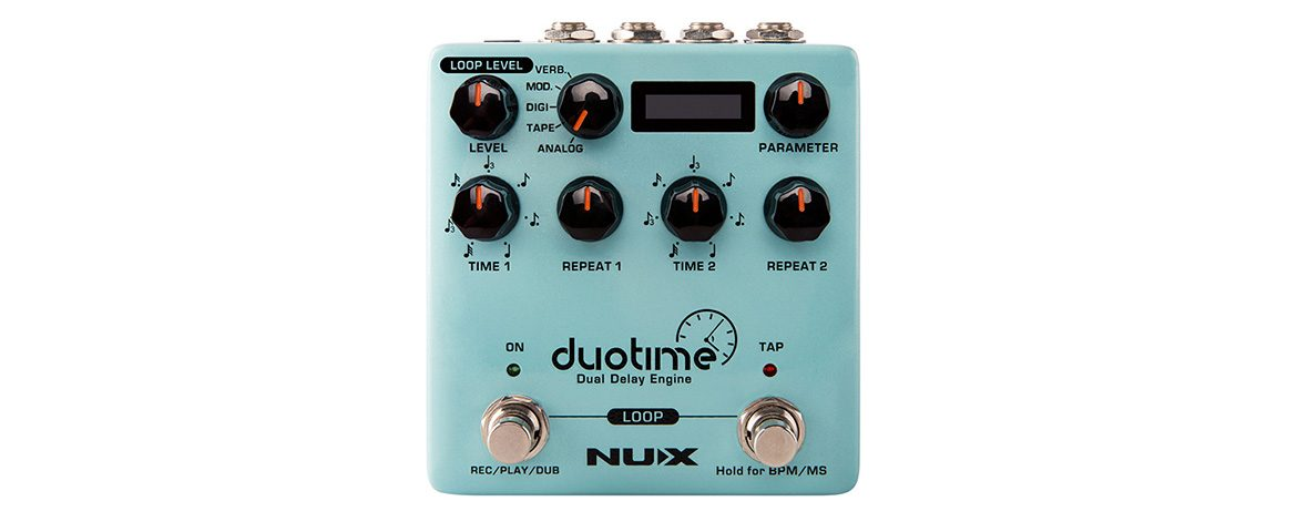 NUX Duotime – nowy firmware V1.0.20