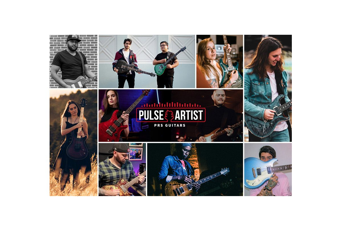 PRS Guitars ogłasza uczestników programu Pulse Artist na rok 2021
