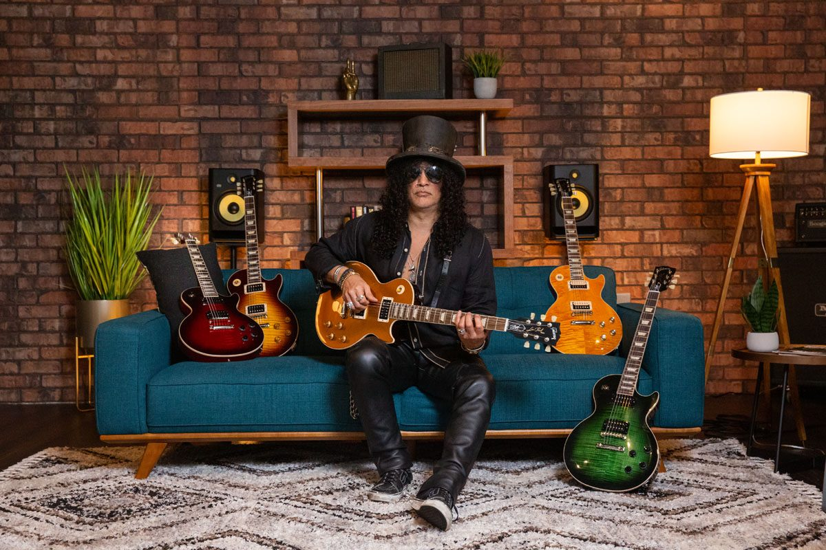 "Gibson Slash ""Victoria"" Les Paul Standard Goldtop"