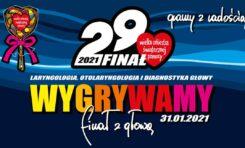 Finał Wielkiej Orkiestry Świątecznej Pomocy odbędzie się 31 stycznia