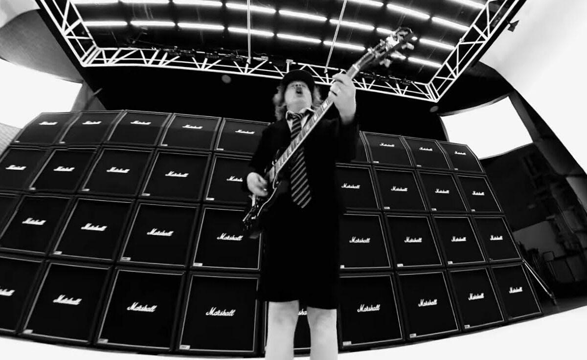 """Ściana Marshalli w nowym teledysku AC/DC – """"Realize"""""""