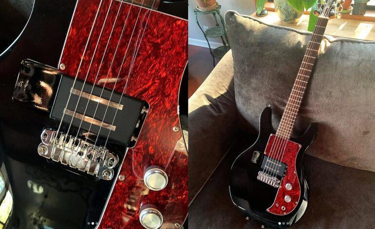 Frank Iero z My Chemical Romance podarował Gary'emu Holtowi gitarę