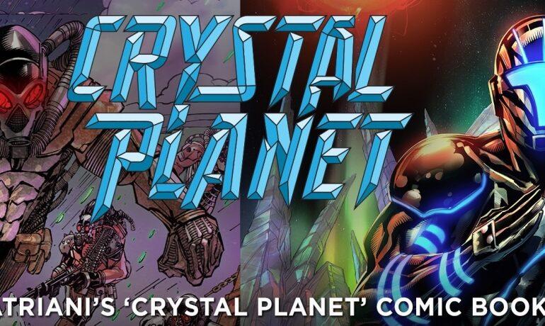 """Joe Satriani współautorem komiksowej serii """"Crystal Planet"""""""