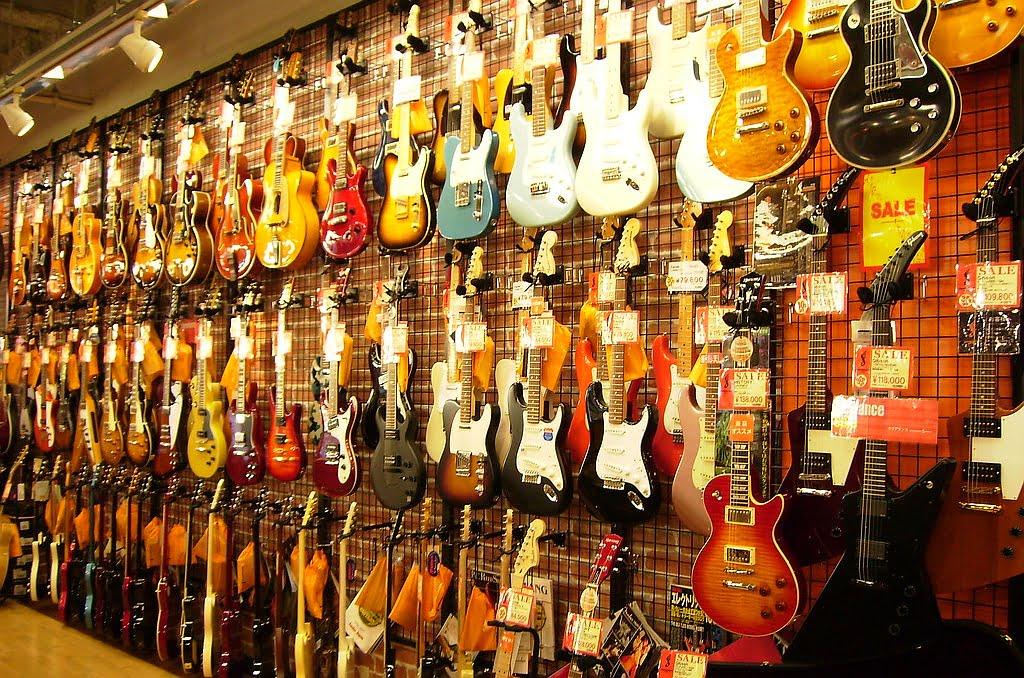 Rynek gitarowy rośnie!