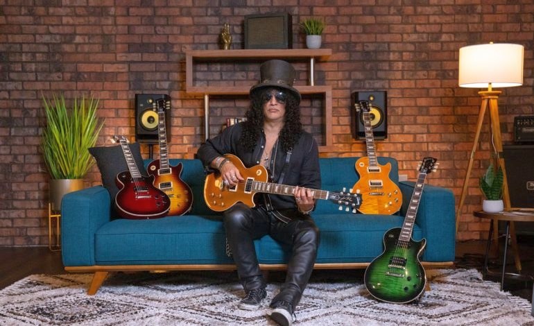 Slash i jego najnowsze sygnatury Gibson Victoria