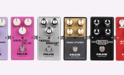 Efekty gitarowe NUX Reissue Series wkrótce dostępne