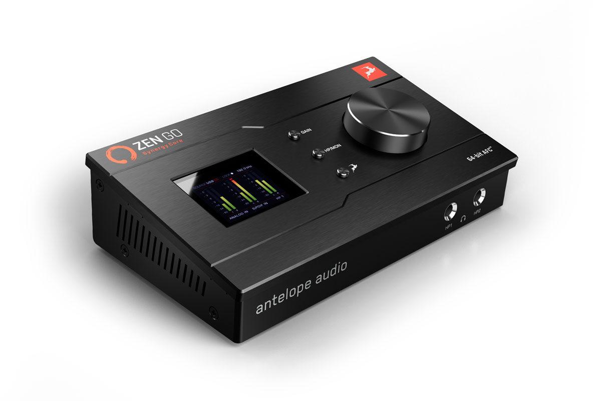 Zen Go Synergy Core – nowy interfejs Antelope Audio