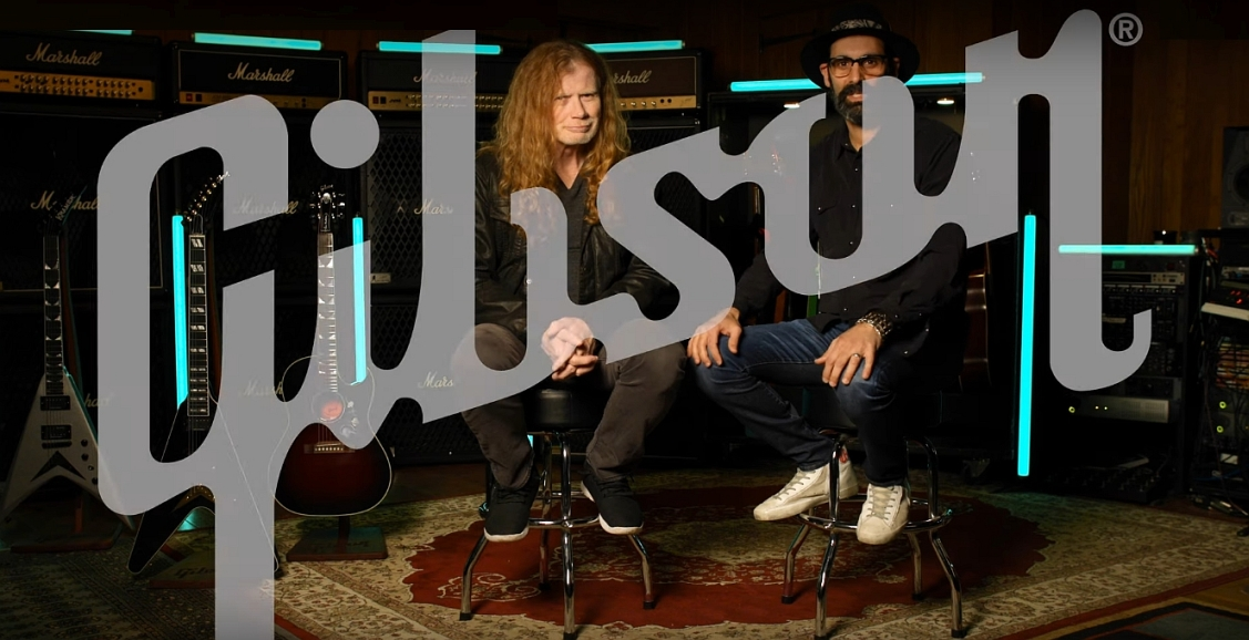Mustaine już oficjalnie z Gibsonem