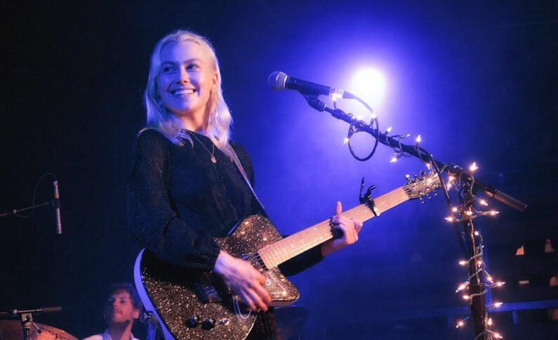 Phoebe Bridgers nie udało się rozbić gitary. Producent wcześniej... życzył jej szczęścia