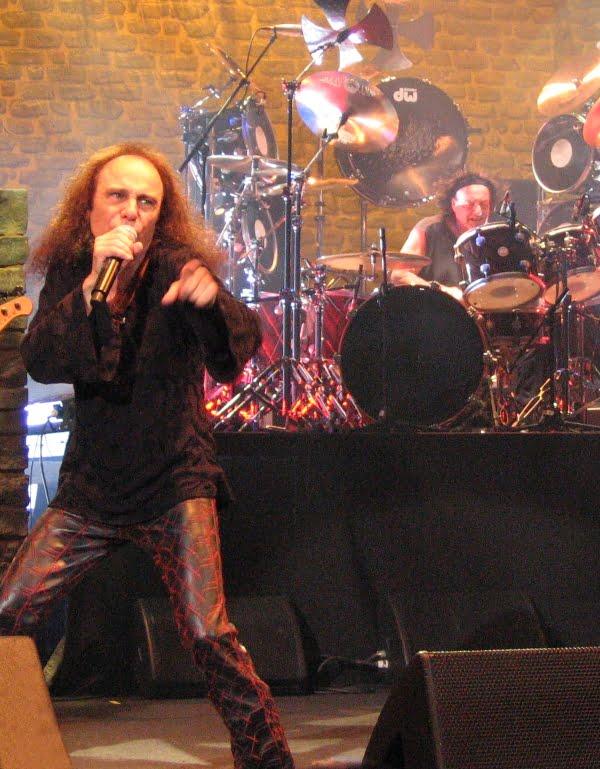 Ronnie James Dio HAH Katowice, fot. Maross Marek Krajcer na licencji CC BY-SA 3.0
