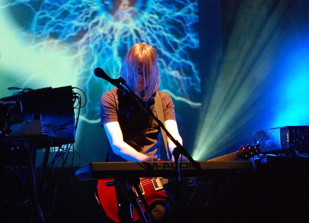 Steven Wilson, fot. Grzegorz Chorus na licencji CC BY 2.0