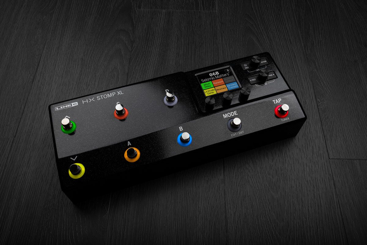 Line 6 HX Stomp XL – nowy procesor gitarowy