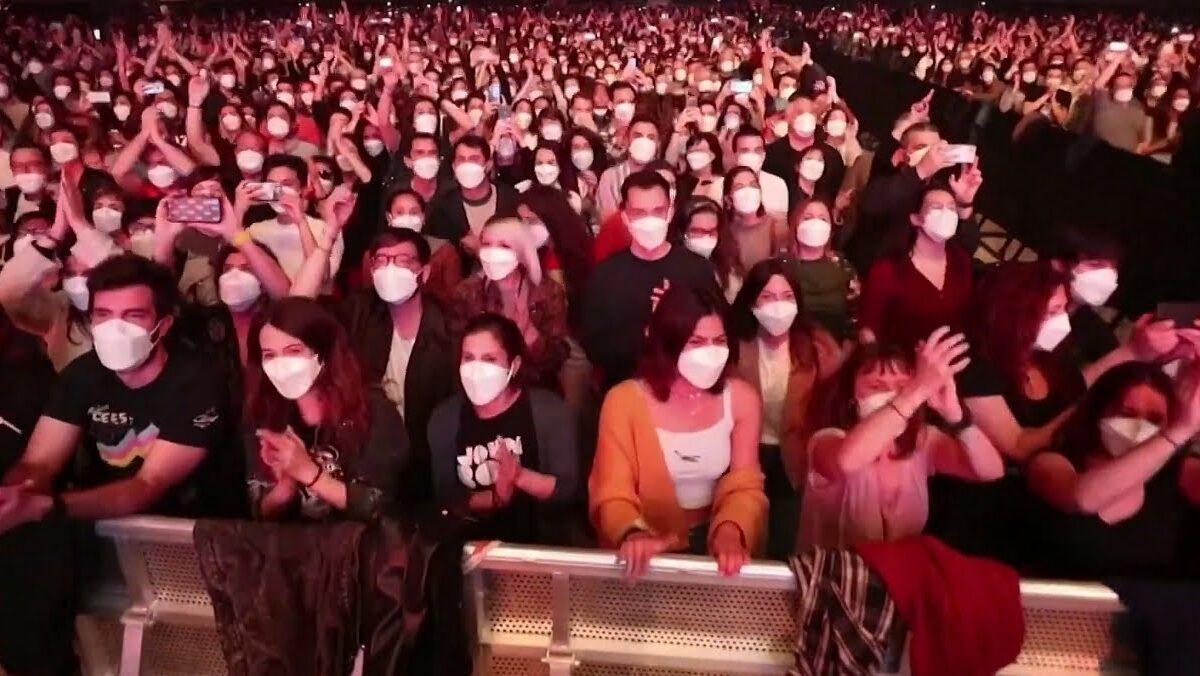 W Barcelonie odbył się koncert na 5000 osób!