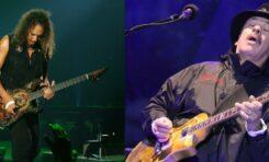 Kirk Hammett zagrał na nadchodzącej płycie Santany