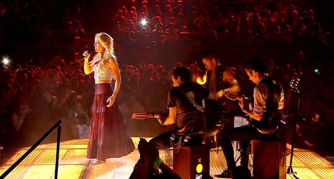 Shakira słucha Metalliki i przypomina o swoich rockowych korzeniach