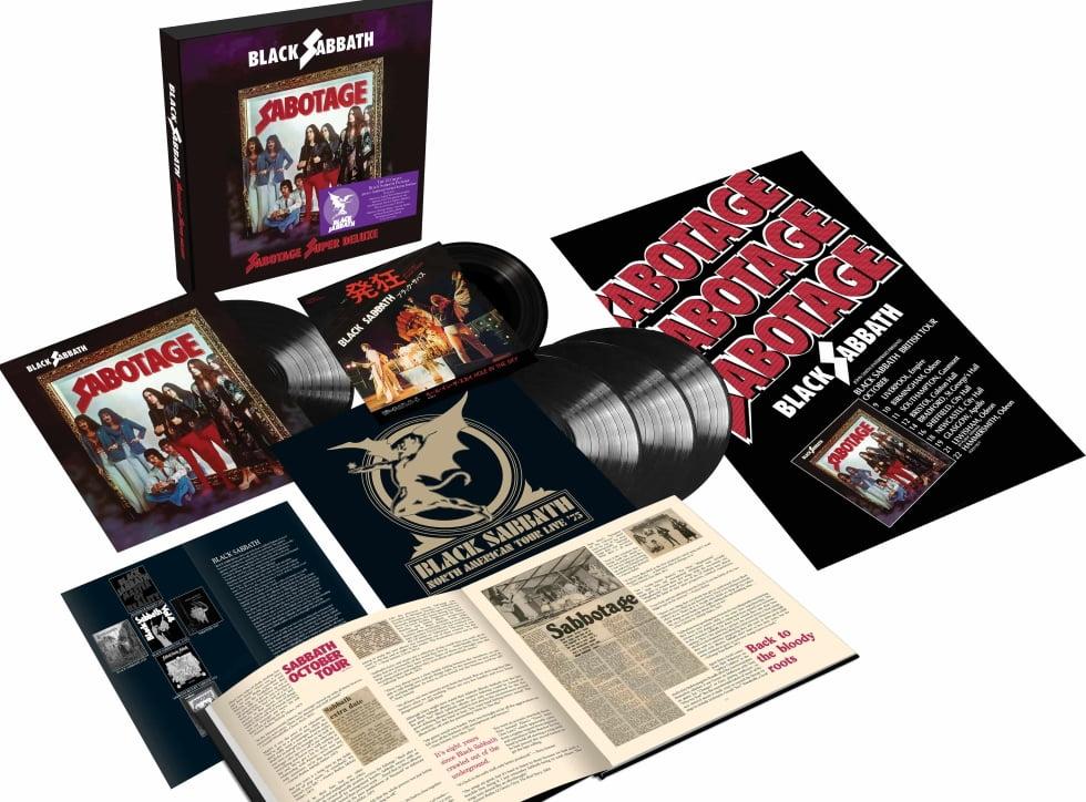 "Black Sabbath ""Sabotage"" – Super Deluxe Edition"