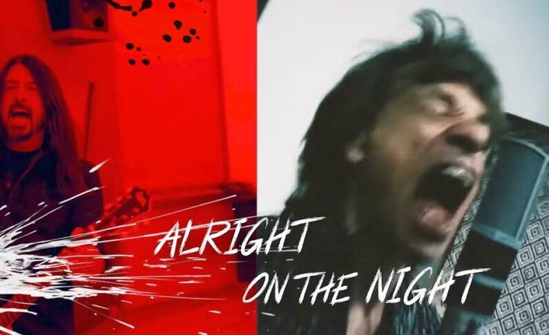 Mick Jagger & Dave Grohl w nowej piosence o antyszczepionkowcach i płaskoziemcach