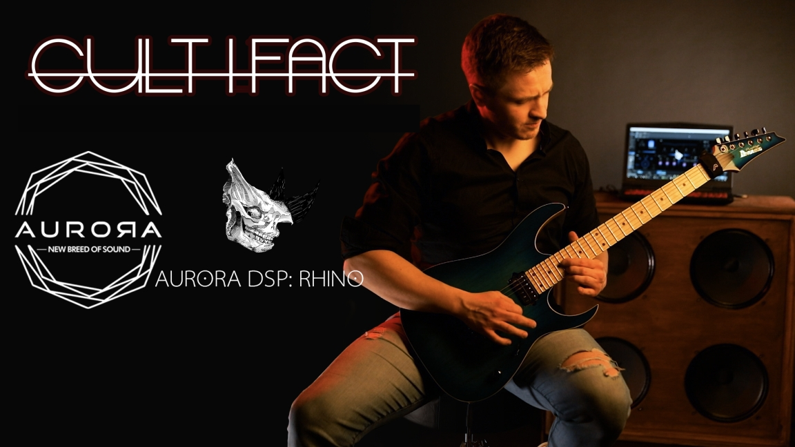 "Cultifact ""Worshipers"" – gitarowy projekt Łukasza Knapika"