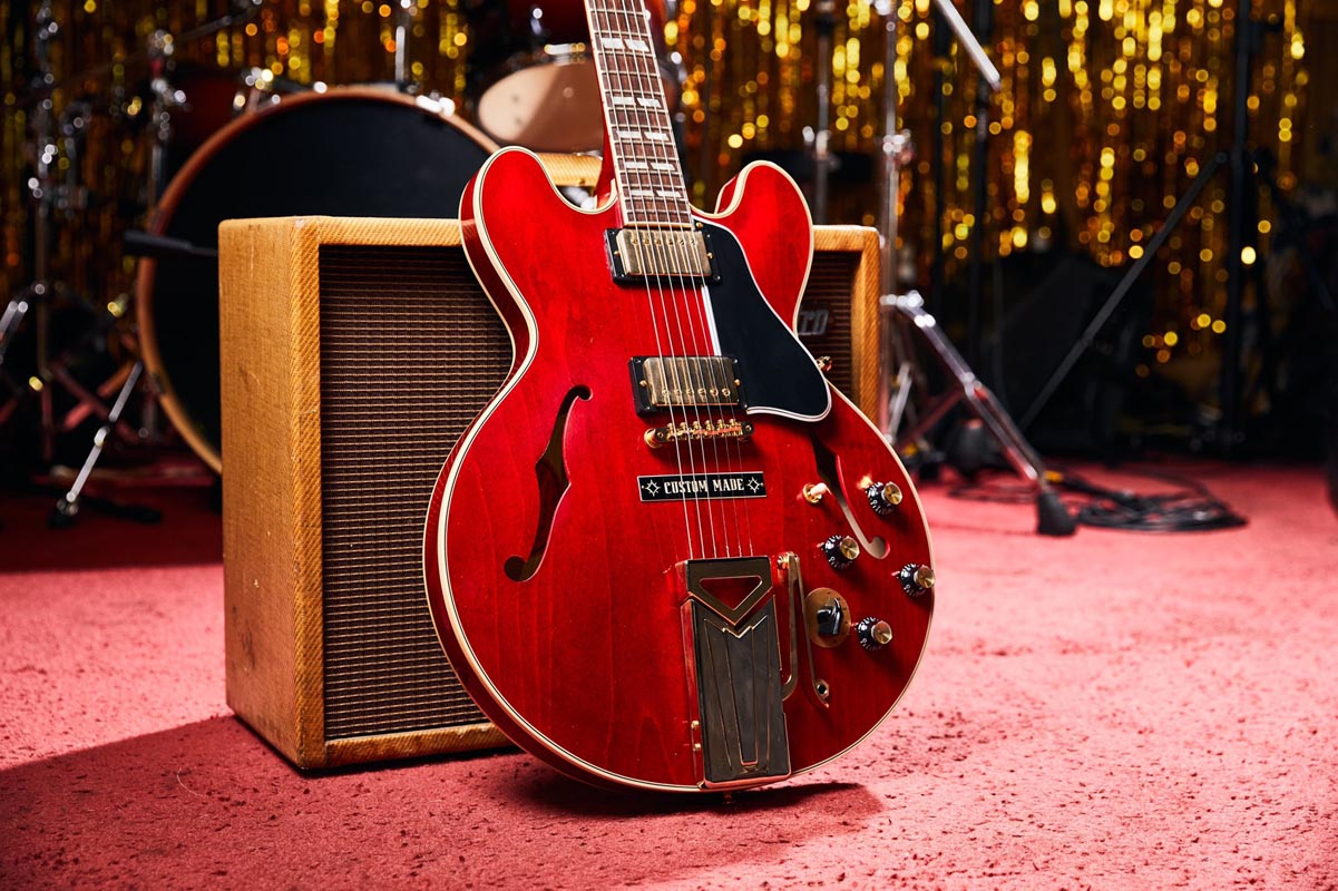 Gibson Marcus King 1962 ES-345 With Sideways Vibrola