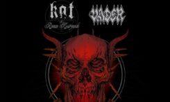 Kat & Roman Kostrzewski i Vader zapowiadają 3 koncerty w wakacje
