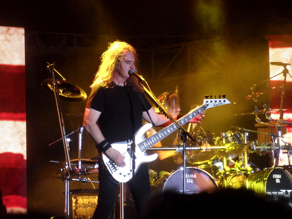 Megadeth kończy współpracę z Davidem Ellefsonem!