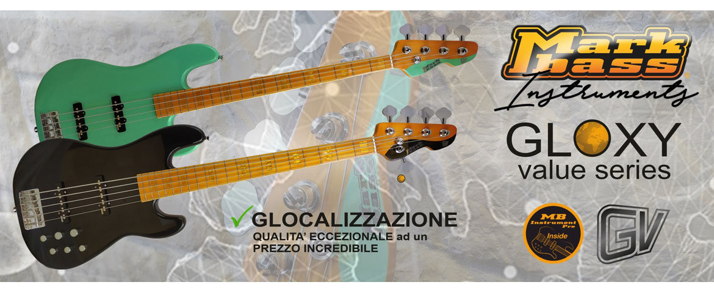 Gitary basowe Markbass Gloxy Value
