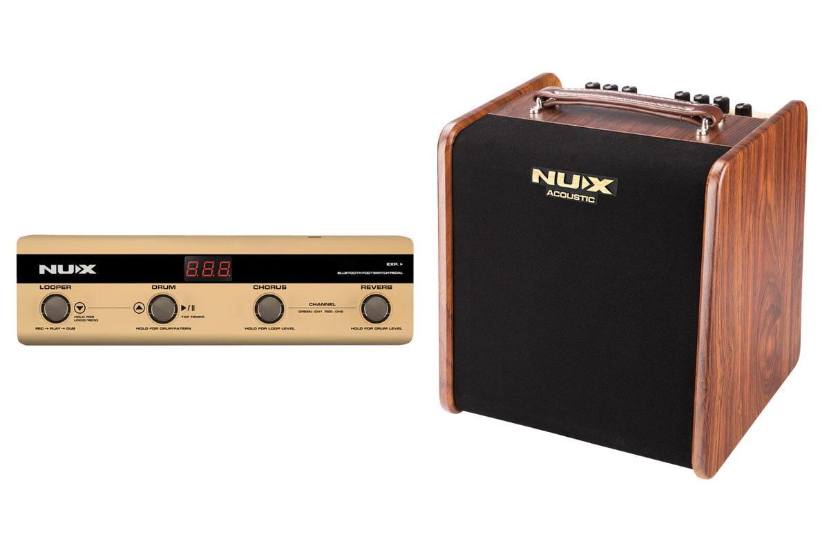 NUX Stageman AC-50 i NMP-4 – tandem idealny