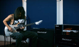 "Alex Scholpp z gitarą ESP MII prezentuje ""Elefante"""