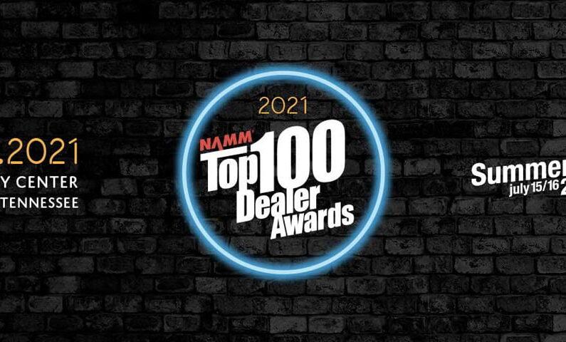 Salony Muzyczne Riff wśród 100 najlepszych sklepów wg NAMM