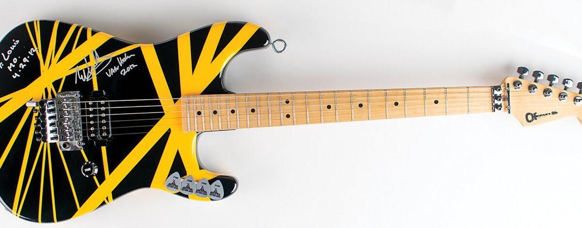 Gratka dla fanów i kolekcjonerów – gitara Eddiego Van Halena na aukcji!
