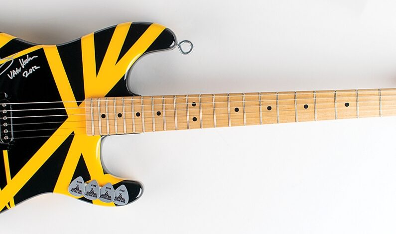 Gratka dla fanów i kolekcjonerów - gitara Eddiego Van Halena na aukcji!