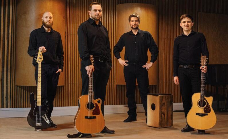 """Zavoyama Quartet """"Acoustic Fusion"""" - nowa jakość w polskiej muzyce gitarowej"""