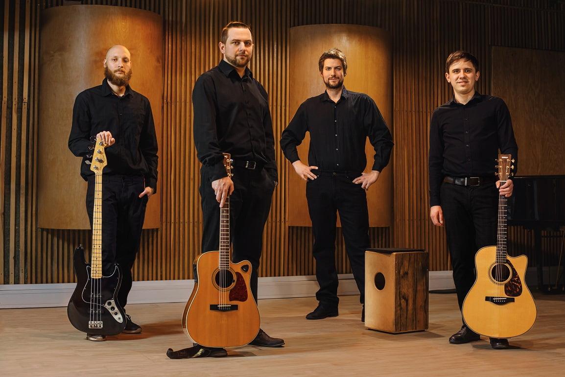"""Zavoyama Quartet """"Acoustic Fusion"""" – nowa jakość w polskiej muzyce gitarowej"""