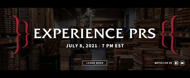 """PRS Guitars zaprasza na wirtualną imprezę """"Experience PRS 2021"""""""