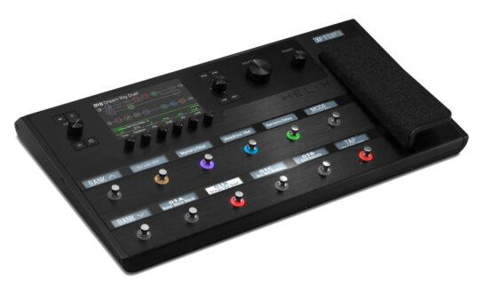 Helix Floor – co oferuje flagowy procesor gitarowy Line 6?