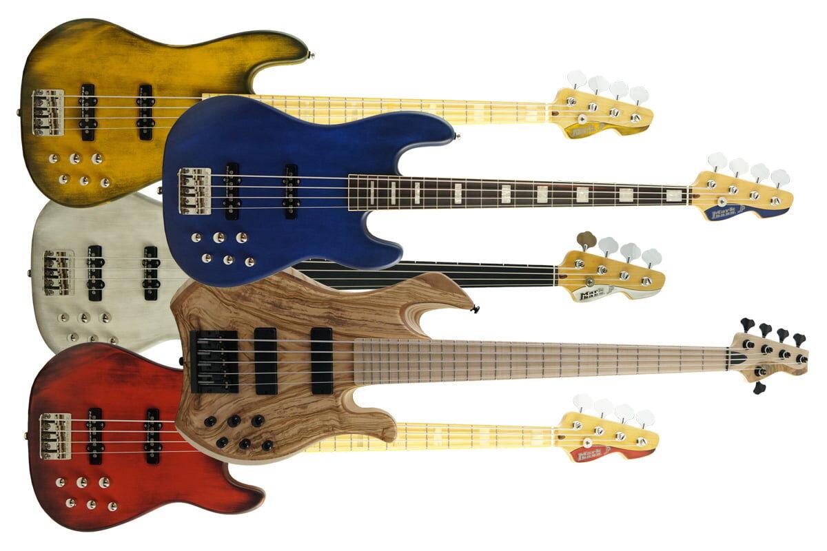 Gitary basowe Markbass w specyfikacji F1 – przegląd