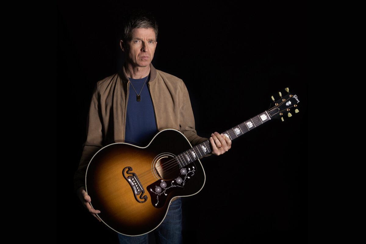 Gitara akustyczno-elektryczna Gibson Noel Gallagher J-150 już dostępna