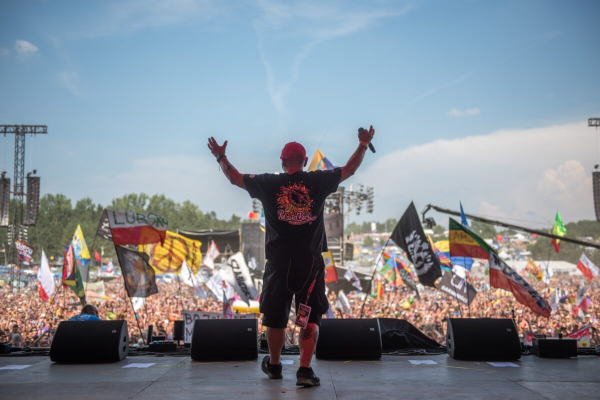 """Jurek Owsiak (WOŚP): """"Nie chcemy, by w przyszłości festiwal był biletowany""""."""
