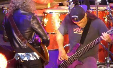 "Kirk Hammett i Rob Trujillo wykonali ""My Friend of Misery""... na jazzowo"