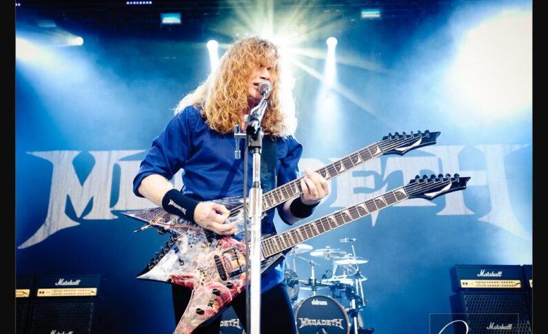 Dave Mustaine ujawnił fragment riffu z nadchodzącej płyty Megadeth